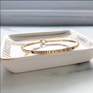 Jewelry - Love is Love Silver mantra bracelet